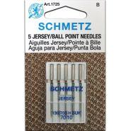 Schmetz Jersey gömbhegyű varrógéptű, 70/10, 130/705H-SUK