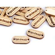 Handmade címke, fa,...