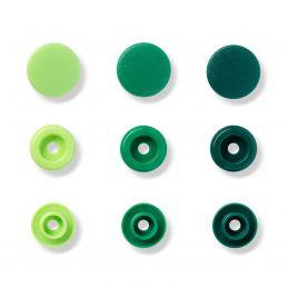 Prym Love, 30pár zöld, kör...