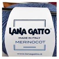 Lana Gatto Merinocot kötőfonal, merinó gyapjú és pamut