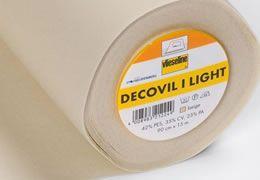 Ismerd meg a Vlieseline Decovil bevasalós, bőrhatású merevitőt